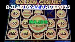 DRAGON LINK GOLDEN CENTURY MAJOR JACKPOTS & (2) HANDPAYS HIGH LIMIT SLOT MACHINE MGM SPRINGFIELD