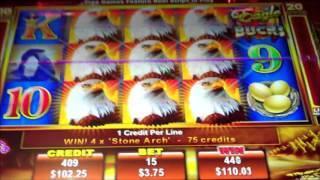 Eagle Bucks BIG WIN BONUS