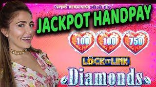 $50/Spin HANDPAY JACKPOT! Bonus After Bonus on Lock It Link Game at Hard Rock Tampa!