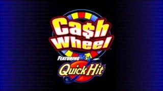 Cash Wheel ft Quick Hit Free Spin Bonus - Bally - Nice Win