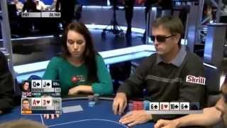 Nice bluff by Liv Boeree