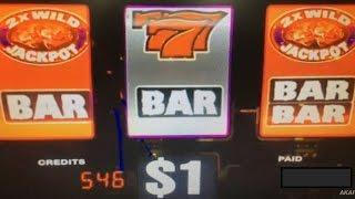 Wild Wild Gems Dollar Slot Machine Max Bet $9 Love Love it•Indian Casino