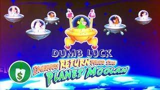 Invaders Return From the Planet Moolah slot machine, dumb luck bonus