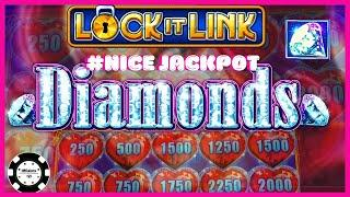 •HIGH LIMIT Lock It Link Diamonds HANDPAY JACKPOT on $25 MAX BET SPIN •Buffalo Gold Slot Machine