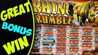 **GREAT WIN** / Rhino Rumble - Bonus Feature