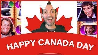 •  Happy 150th Canada with Jim Carrey! • SPINNING • SATURDAYS • Slot Machine Pokies HD