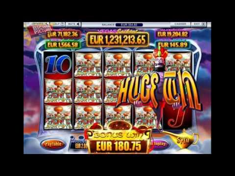 Genie jackpots slot genie win spin feature big win genie jackpots slot 5 of kind feature malvernweather Choice Image