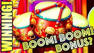 DID I GET ENOUGH BOOM FOR THE BUCK? TRIPLE DRUMS ON NEW DANCING DRUMS PROSPERITY! Slot Machine (SG)