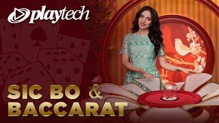 Playtech Live Casino Sicbo and Baccarat compilation