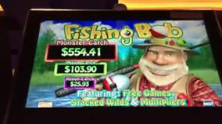 Fishing Bob Slot Machine  Big Win Live Play Max Bet