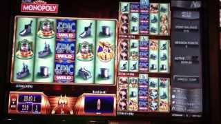 Epic Monopoly Slot Machine Bonus - Multiplier Spin