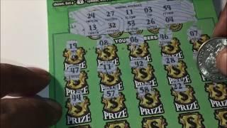 NJ Lottery $30 Scratch Off Single Match Win