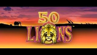 •50 LIONS •ALL STAR VIP•BONUS WIN•10C |- BY  ARISTOCRAT