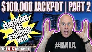 $100,000 JACKPOT PART 2 •Only Seen on Patreon •HIGH LIMIT SLOTS | The Big Jackpot