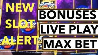 LIVE PLAY and Bonuses on Playboy Super Quick Hits Slot Machine