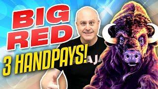 ⋆ Slots ⋆ Big Jackpot Wins on Big Red ⋆ Slots ⋆ High Limit Aristocrat Slots + Buffalo Gold Bonuses!