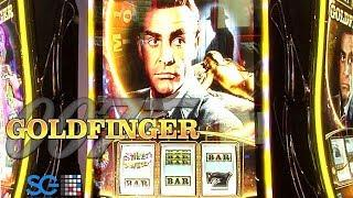 James Bond Goldfinger Slot Machine from Scientific Games