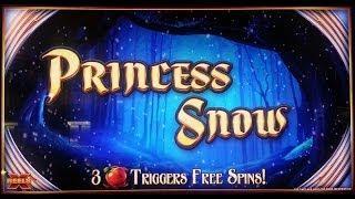 WMS Gaming: X-Reels - Princess Snow Slot Bonus
