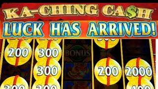 •New Slot Machine•• KA-CHING CA$H• Live Play Hold & Spin LUCK HAS ARRIVED•