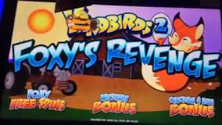 LIGHTNING LINK & YARDBIRDS 2: FOXY'S REVENGE ~ Fun Bonus ~ Live Slot Play @ San Manuel