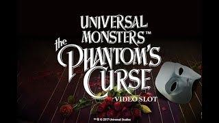 Universal Monsters• The Phantom's Curse Video Slot - NetEnt