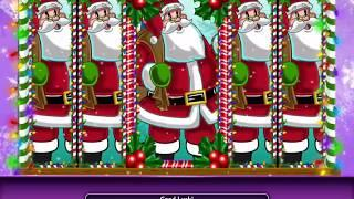 LUCKY ELVES Video Slot Casino Game with a HOLIDAY ELVES FREE SPIN BONUS