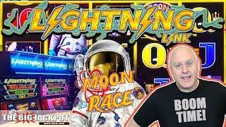 2 Bonus Round WIN$ •Lightning Link Moon Race Slots | The Big Jackpot