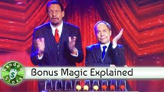 Penn & Teller slot machine, Encore Magic Trick Bonuses