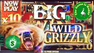 • Wild Grizzley slot machine, Big Win Happy Goose & Happy New Year