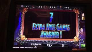 Black Widow Double Bonus $12,350 at $200/pull at Bellagio Las Vegas