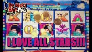 **ALL STARS BIG WINS AS THEY HAPPEN!!!** All Stars Slot Machine