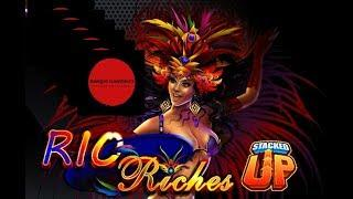 """STACKED UP:  RIO RICHES  ~  """"That was fun, do that again.......Okay"""" ~ Live Slot Play @ San Manuel"""