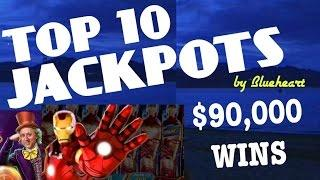 "•TOP 10 JACKPOTS• ""BIGGEST SLOT WINS""  •ALL TIME BEST JACKPOT HANDPAYS•"