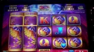 Exotic Princess Slot Machine Bonus + Retriggers - 11 Free Games with Locking Symbols - BIG WIN (#1)