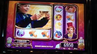Willy Wonka Slot Machine Bonus - Charlie Free Spins