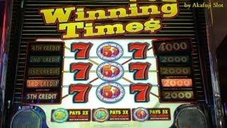 Slots Weekly Highlights #44 For you who are busy• Winning Times $1 Slot 赤富士スロット, カジノ, 勝負師