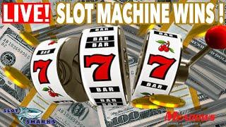 • LIVE Casino Slot Machine Wins & Jackpot Handpay ! • •
