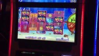 Goldfish III Slot Machine Red Fish Bonus #2 MGM Casino Las Vegas