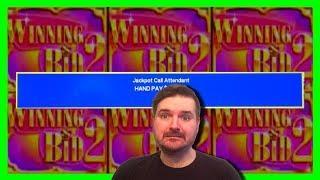 JACKPOT HANDPAY • $20/SPIN • Winning Bid 2 Slot Machine Bonuses W/ SDGuy1234