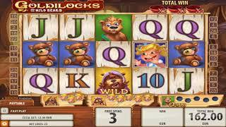 Goldilocks slot - 1,356 win!