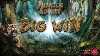 BIG WIN ON JUNGLE SPIRIT: CALL OF THE WILD SLOT (NETENT) - 3€ BET!