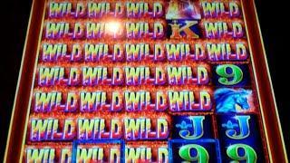 Rumble Rumble Slot Machine Bonus + Retriggers - 18 Free Games Win with Expanding Reels