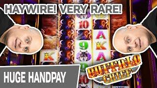 ⋆ Slots ⋆ HAYWIRE! EXTREMELY RARE! ⋆ Slots ⋆ My BIGGEST HIT EVER on Buffalo Chief! Hard Rock SLOTS