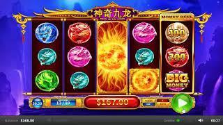 Shen Qi Jiu Long slots - 476 win!