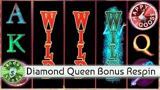 • Diamond Queen slot machine, Bonus Respin