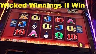 quick Wicked Winnings II Bonus Win