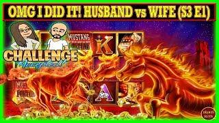 OMG I DID IT! HUSBAND vs WIFE CHALLENGE TURNING $1000 FREE PLAY INTO PROFIT ( S3 Ep1 )