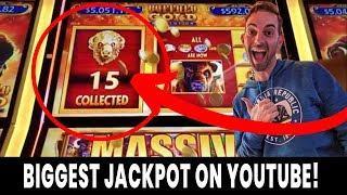 • BIGGEST Buffalo Gold Revolution JACKPOT on YouTube! • 15 Gold Buffalo caught LIVE!