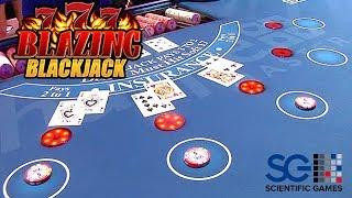 Blazing 7s Blackjack from Scientific Games