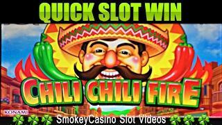 CHILI CHILI FIRE Slot Machine Bonus Win - Konami